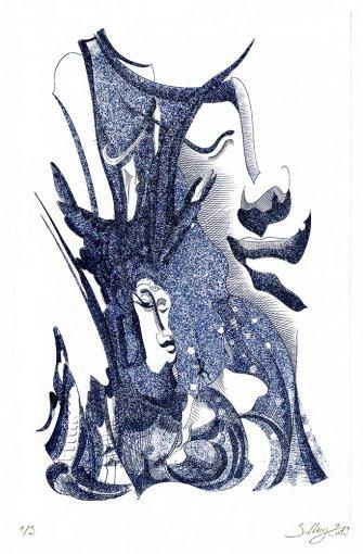Don Quichotte - Bleu